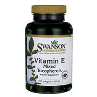Swanson Vitamin E Mixed tocopherols 400 Iu