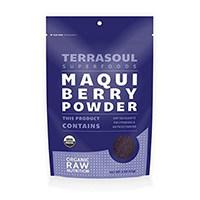 Terrasoul Superfoods ორგანული MAQUI Berry ფხვნილი