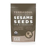 Terrasoul Superfoods Raw Organic Sesame Seeds