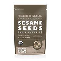Σπόροι Terrasoul Superfoods Raw Organic Σουσάμι