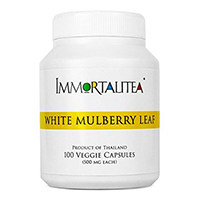 The Immortalitea Company White Mulberry Leaf Capsules