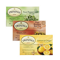 Twinings Herbal Tea Rooibos Tea tinh khiết Red