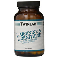 Twinlab Inc L-Arginine at L-Ornithine