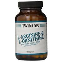 Twinlab Inc L-arginina y L-ornitina