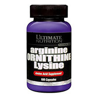 Ultimate Nutrition Arginin Ornithin Lysin Kapsler