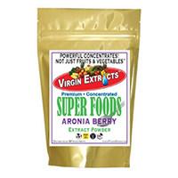 Virgin Extracts Pure Premium Organic Aronia Berry Chokeberry 4 1 Extract