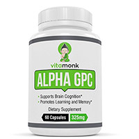 VitaMonk Alfa GPC Cápsulas