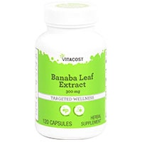 Extrait Vitacost Feuille de Banaba