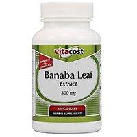 สารสกัดจากใบ Vitacost บานา