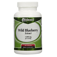 Vitacost hoang Blueberry Extract