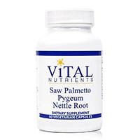 Ζωτικής σημασίας θρεπτικές ουσίες - Saw Palmetto Pygeum Nettle Root
