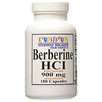 Vitamins Because Pure and High Potency Berberine