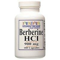 Vitamins Because Pure and High Potency Berberine