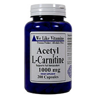 We Like Vitamins Acetyl L-Carnitine