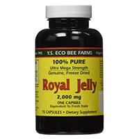 YS Eco Bee Plase 100% Pure gevriesdroogde Vars Royal Jelly