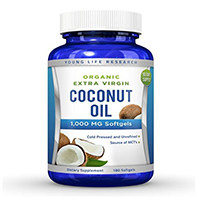 Young Life Research Coconut Oil Capsules