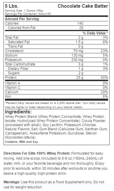 Dymatize Elite Whey етикет протеин изолат добавка факти