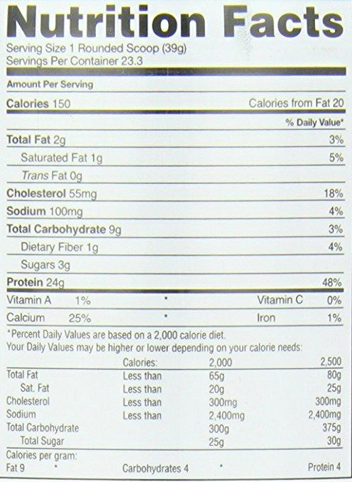 Gaspari Nutrition MyoFusion Probiotic Series supplement facts label