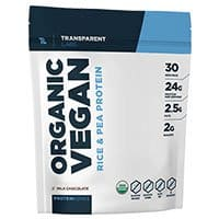 Transparent Labs ProteinSeries Organic Vegan Protein Review