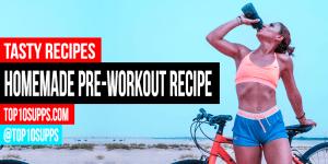 Kotitekoinen Pre Workout Drink Resepti