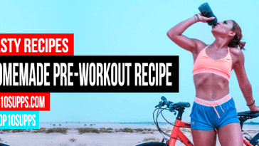 ხელნაკეთი Pre Workout სასმელი რეცეპტი