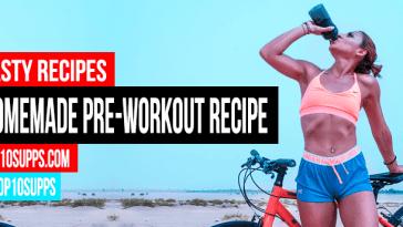 Tự chế Pre Workout Uống Recipe