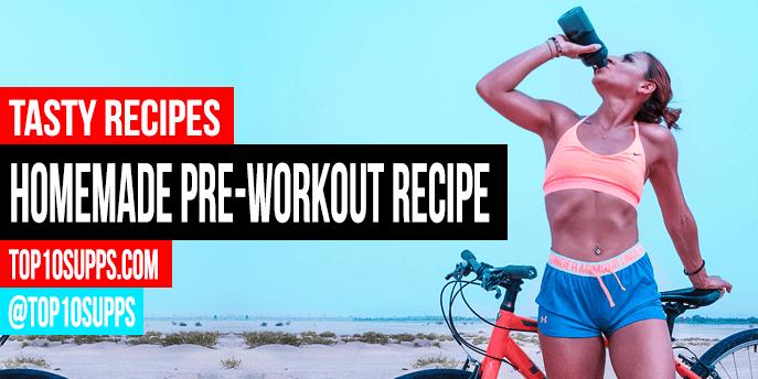 Hausgemachte Pre Workout Drink Rezept