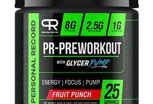 Pr Pre Workout Dengan Pam Glycer