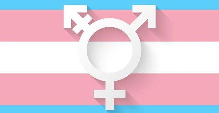 Bandera de transgénero
