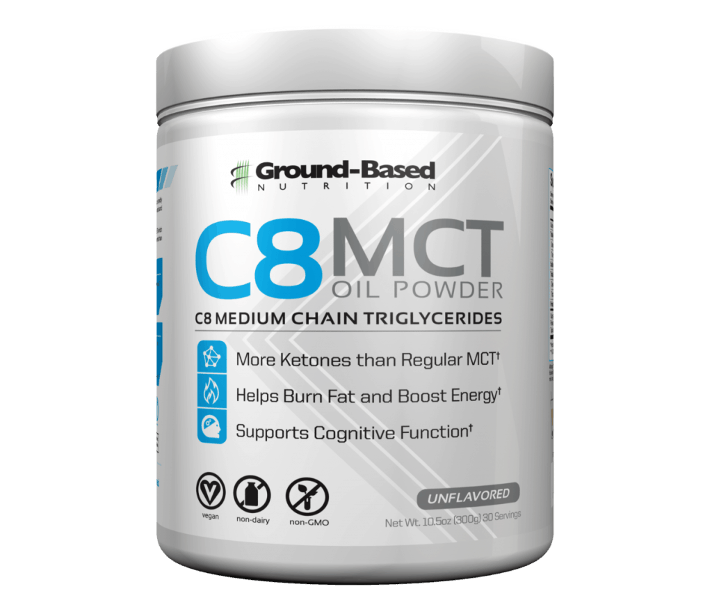 Ground Based Nutrition C8 Mct aceite en polvo