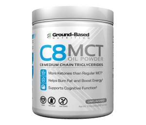 Ground Based Nutrition C8 Mct Oil Powder