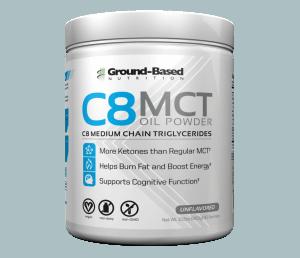 Ground Based კვების C8 Mct ნავთობის ფხვნილი