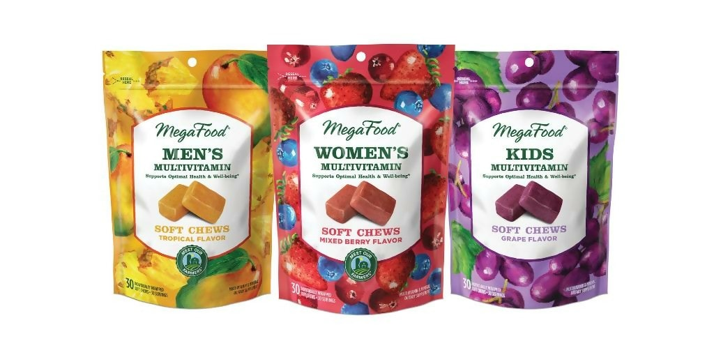 Multivitaminas Masticables Megafoods