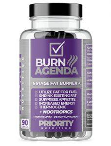 Priority Nutrition Daily Burn 5 Etapa Fat Burner