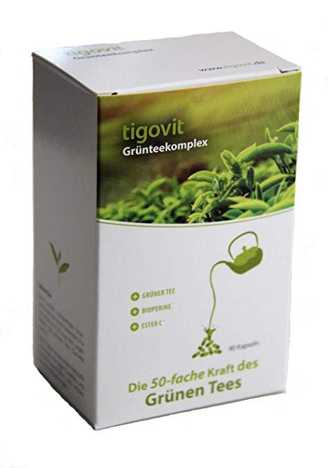Tigovit მწვანე ჩაის კომპლექსი