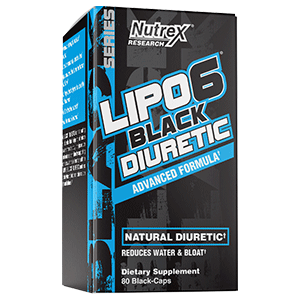 Lipo 6 Diuretic Dubh De réir Nutrex Research