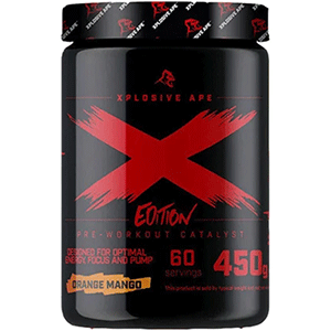 Новое издание X Edition Pre Workout от Xplosive Ape