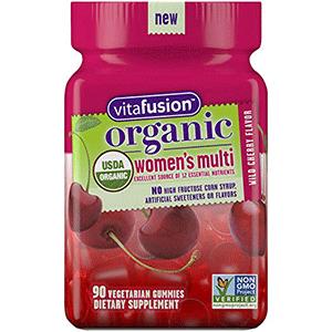 Organic Gummy Vitamins By Vitafusion