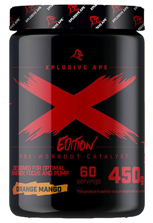 X Edition Pre Workout From Xplosive Ape