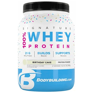 Bodybuilding Signature Series Whey Protein Cake Flavour
