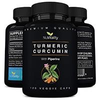 Nuvitality Turmeric Curcumin With Piperine